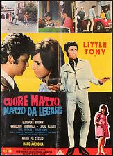 CINEMA-soggettone CUORE MATTO MATTO DA LEGARE l. tony
