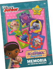 DISNEY DOC MCSTUFFINS® MEMORY MATCHING GAME FROM MEXICO. Ages +3