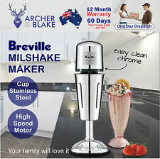 Breville Commercial Milkshake Maker Drink Stainless Steel Cup Frother Milk Shake