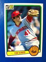1983 Donruss Baseball Card #122 Tom Seaver