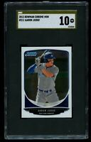 2013 Bowman Chrome Aaron Judge Mini SGC 10 Pristine Gold Label Rookie Yankees RC