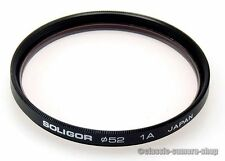 SOLIGOR Skylightfilter 1A FILTER SKYLIGHT 52mm M52 Schraubfassung (O2650