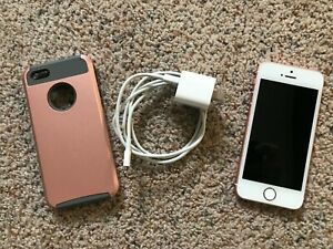 Apple iPhone SE - 32GB - Rose Gold (Total Wireless) A1662 (CDMA + GSM)