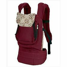 Baby Carrier Slings Safety Baby Front Back Carrier Infant Backpack Wrap (Red)