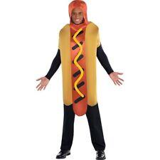 Unisex Hot Dog Salchicha De Vestir divertido traje de Disfraz