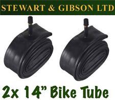 2 x IGNITE 14 INCH INNER BICYCLE TUBE TUBES 1.75 - 2.125 MOUNTAIN BIKE SCHRADER