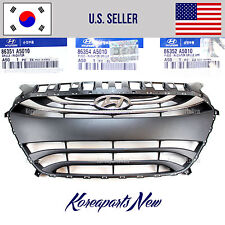 GRILLE FRONT BUMPER ASSEMBLY (GENUINE) A5010 HYUNDAI ELANTRA GT 2013-2015