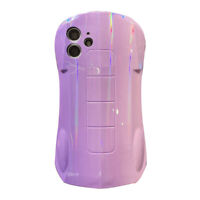 Sports Car Design Laser Phone Case Shockproof Cover for iPhone 12 Pro Max 8 X 11