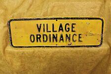 Vintage Village Ordinance 24'' x 8'' Man Cave