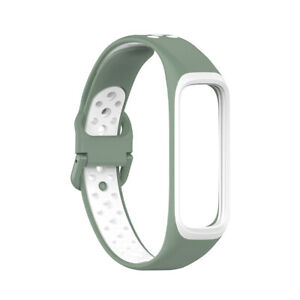 For Galaxy Fit2 SM-R220 20mm Smart Watch Strap Silicone Wrist Band Replacement