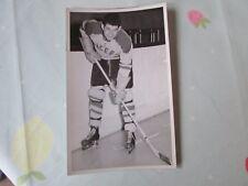 Original Gene MILLER Harringay Racers 1950's Ice Hockey Photo