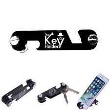 EDC Gear Portable Pocket Key Holder Clip Organizer Folder Keychain Phone Holder
