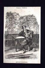 Foggie Turche - Artigiano di Pera Incisione del 1869