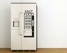 Fast Food Machine - highest quality wall decal stickers