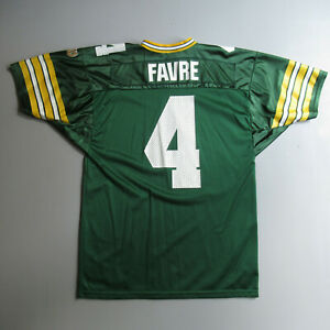 Vintage Brett Favre #4 Green Bay Packers Jersey Size Large  L 46 Made USA