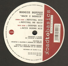 BOOGIE BUFFET - Back 2 Boogie - Back to Basics