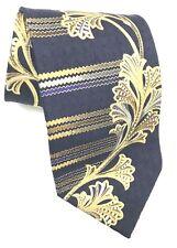 TINO COSMA Made In Italy Silk Navy Gold Mens Tie Michigan NAVY Rams