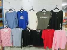 11 XL WOMENS TOPS SHIRTS SHORT LONG SLEEVE V-NECK HENLEY HOLIDAY CLOTHES LOT
