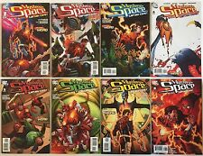 Mystery In Space With Captain Comet #1-8 Complete Set (DC Comics 2006-07) VF