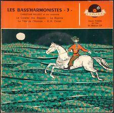 LES BASS'HARMONISTES LE CAVALIER DES STEPPES 45T EP BIEM POLYDOR 20.790