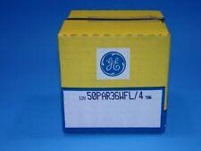 GE Sealed Beam Lamp 50W 12V 50PAR36WFL/4 Factory sealed Bulb