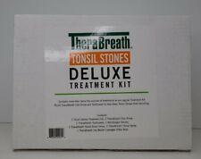 NEW THERABREATH TONSIL STONES DELUXE TREATMENT KIT
