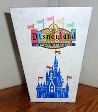 Disneyland Popcorn Box Fantasyland California Adventure Free Shipping