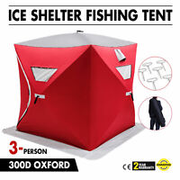 Ice Shelter Fishing Tent Camping Tent Winter Shanty Portable Outdoor