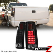 """COOLEST"" Matte Super Flux LED Rear Tail Lamps 88-98 Chevy Truck Tahoe Yukon C10"