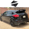 fit for Ford Focus ST RS MK3 Hatchback 2PC shiny black Window Side Louvers Vent
