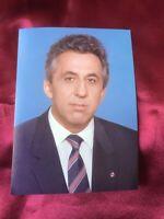 Autogramm EGON KRENZ-handsigniert 1990-Originalfoto-DDR/SED/Staatsratsvorsitzend