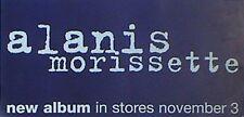 "Alanis Morissette ""Supposed Former Infatuation Junkie"" U.S. Promo Poster /Banner"