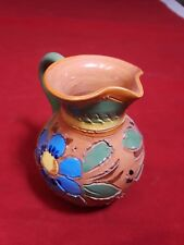 """Miniature Pottery Pitcher Italy 3.5"""" Tall"""