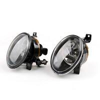 Pair Of Front Halogen Fog Lamp Fog Light 9006 For VW Jetta Golf MK6 Tiguan AU5