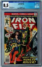 IRON FIST #10 - CGC Graded 8.5 - White Pages
