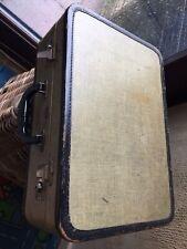 Vintage  Antique Langmuir Luggage Suitcase Storage Display Prop Rare