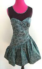 NWT BETSEY JOHNSON GLAMORAMA ILLUSION TAFFETTA BUBBLE DRESS-$398-6