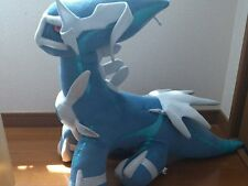 "Pokemon Plush Dialga Big 26"" Doll Tomy Heartland stuffed animal figure go palkia"
