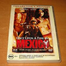 ONCE UPON A TIME IN MEXICO ( DVD , REGION 4 ) ~ LIKE NEW