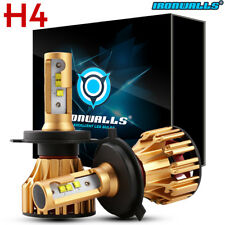 H4 9003 1280W CREE LED Bulb HID White 360 Hi/Low Beam Motorcycle Headlight 6500K