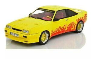 Opel Manta B Mattig 1991 gelb orange  1:18 MCG Modellautos