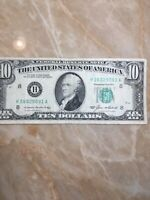 *.1985 $10 US FRN vintage style** St Louis Note