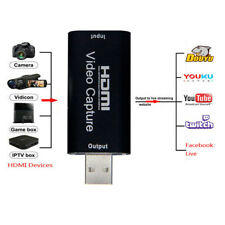 Mini Portable HDMI to USB Video Capture Card Recorder box Game / Live Streaming