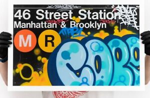 COPE2 * 46th Street Station NYC * Limited Edition Print Signed & Numbered x/100