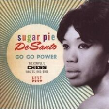 SUGAR PIE DESANTO - GO GO POWER-COMPLETE CHESS SINGLES 1961-1966  CD NEU
