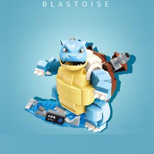 Pokemon Series Blastoise Building Blocks Set  - USA SELLER