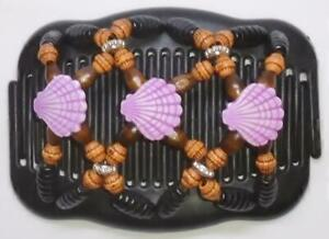 """Angel Wings Hair Clips 4x3.5"""", African Butterfly Style, USSELLER, Quality MS40"""