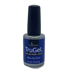 EzFlow Trugel Gel Polish - Blue Are You? #42578- 14ml / 0.5oz Each