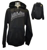 Oakland Athletics Men's Big & Tall Full-Zip MIDWEIGHT XLT-6XL DryBase Jacket MLB