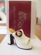 Mib Just The Right Shoe Raine Struttin #25047 Retired Miniature Collectible